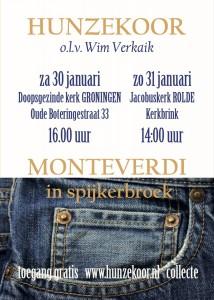 Monteverdi in Spijkerbroek